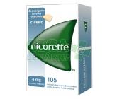 Obrázek Nicorette Classic Gum 4mg 105 žvýkaček