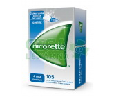 Obrázek Nicorette Icemint Gum 4mg 105 žvýkaček