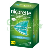 Nicorette Icemint Gum 4mg 105 žvýkaček