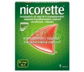 Nicorette Invisipatch 25mg/16h drm.emp.tdr.7x25mg