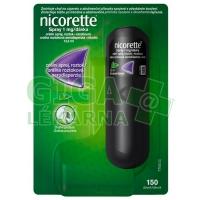 Nicorette spray 1mg/dávka 150 dávek