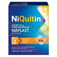 Niquitin Clear 14mg 7 náplastí