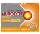 Obrázek Nurofen Junior Pomeranč 100mg 12 žvýkacích tobolek