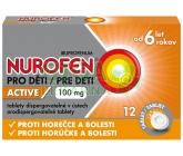 Obrázek Nurofen pro děti Active rychle rozpustné tablety 12x100mg