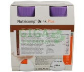 Nutricomp Drink Plus Čokoláda por.sol.4x200ml