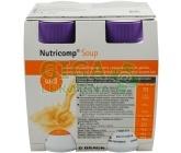 Nutricomp Soup jem.kuř.kari por.4x200ml