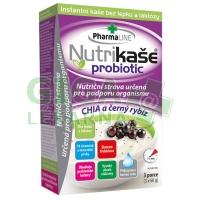 Nutrikaše probiotic - Chia a černý rybíz (3x60g)