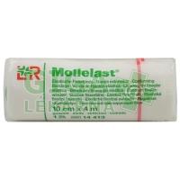 Obinadlo elastické fixační Mollelast 10cmx4m v celofánu