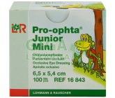 Okluzor nápl.Pro-ophta Junior Mini 6.5x5.4cm/100ks