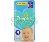 PAMPERS Active Baby VPP 4 Maxi 9-14kg 58ks