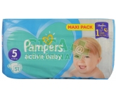 PAMPERS Active Baby VPP 5 Junior 51ks