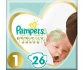 Pampers Premium Care Pack S1 26ks Newborn