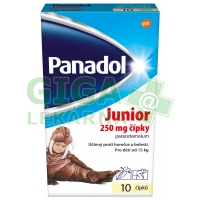 Panadol Junior čípky 10x250mg