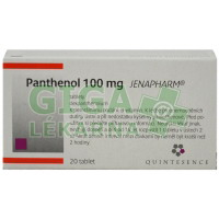 Panthenol 100mg 20 tablet Jenapharm