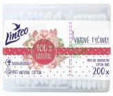 Papírové vatové tyčinky Linteo  200 ks( box)