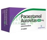 Obrázek Paracetamol Aurovitas 500mg 24 tablet