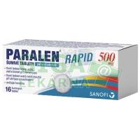 Paralen Rapid 500mg 16 šumivých tablet