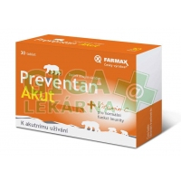 Preventan Akut 30 tablet Farmax