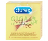 Prezervativ Durex Real Feel 3 ks