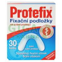Protefix Fixační podložky - dolní zubní protéza 30ks
