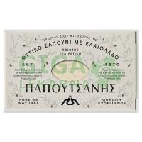 Řecké přírodní olivové mýdlo bílé 125g