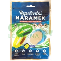 Repelentní náramek na komáry klíšťata 1ks