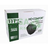 Respirátor FFP2 - černý HO-Comfort 25ks