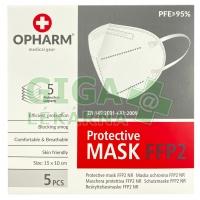 Respirátor Opharm FFP2 - 5ks