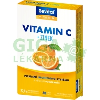 Revital Vitamin C+zinek 30 tablet