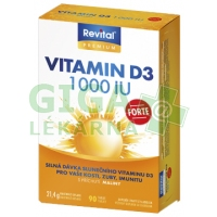 Revital Vitamin D3 Forte 1000 IU 90 tablet