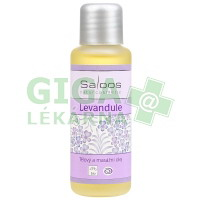 Saloos Tělový a masážní olej Levandule 50ml
