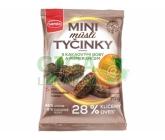 Semix Mini Müsli tyčinky s kakaovými boby a pomerančem bez lepku 70g