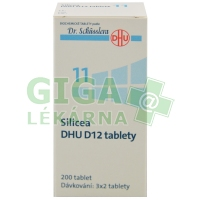 Silicea DHU 200 tablet D12 (No.11)