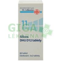 Silicea DHU 80 tablet D12 (No.11)