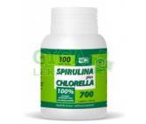 Obrázek Spirulina Plus Chlorella 100 tablet Virde