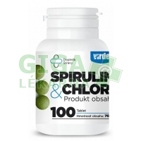 Spirulina Plus Chlorella 100 tablet Virde