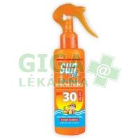 SUN Kids opal. mléko s betacarotenem SPF30 sprej 200ml