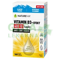 Swiss NatureVia Vitamin D3-Efekt 400 IU kap.10.8ml