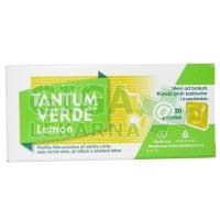Tantum Verde Lemon 20 pastilek