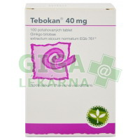 Tebokan 40mg 100 tablet