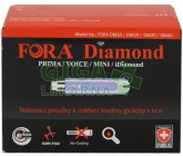 Testovací proužky ke glukometrům Diamond 50ks