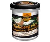 Topvet Bio kokosový olej s rakytníkem jednodruhový rostlinný extrapanenský 250ml