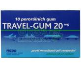 Obrázek Travel-Gum 20mg 10 žvýkaček