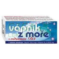 Vápník z moře + Vitamín D3 60 tablet Naturvita