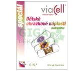 Viacell D122F Dětské obrázkové náplasti 20ks