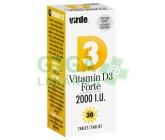 Virde Vitamín D3 Forte 30 tablet