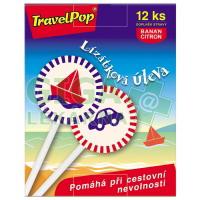 TravelPop lízátka na cestovní nevolnost 12ks