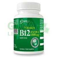 Vitamín B12 EXTRA 1000mcg 90 tablet Nutricius