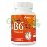 Vitamín B6 EXTRA - pyridoxin 50mg 60 tablet