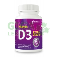 Vitamín D3 EXTRA 2500IU 30 tablet